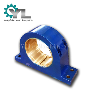 Cast Steel Bearing Housing With Sliding Bronze Bush Bearing