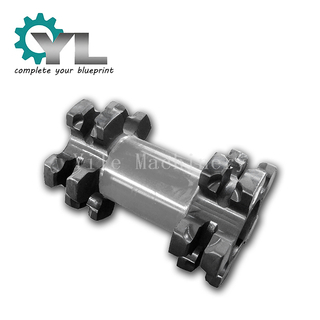 Coal Plant Conveyor Casting Iron Roller Wheel Sprocket Double Chain Wheel