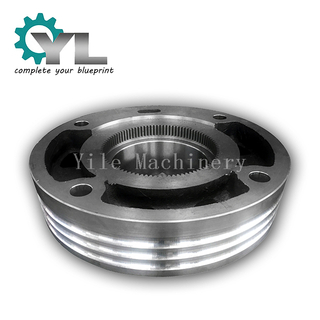 Mining Excavator Large Steel Rope Transmission Block Drum