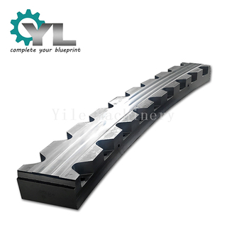 Custom Assemble Segment Round Roller Wheel Rail