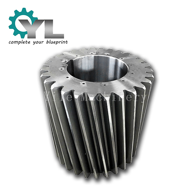 Ball Mill Forged Steel 42CrMo4 Helical Pinion