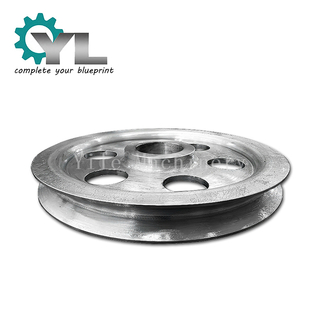 Crane Forged Carbon Steel Drive Open Pulley