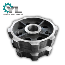 Custom OEM Cast Steel Output Sprocket Wheel