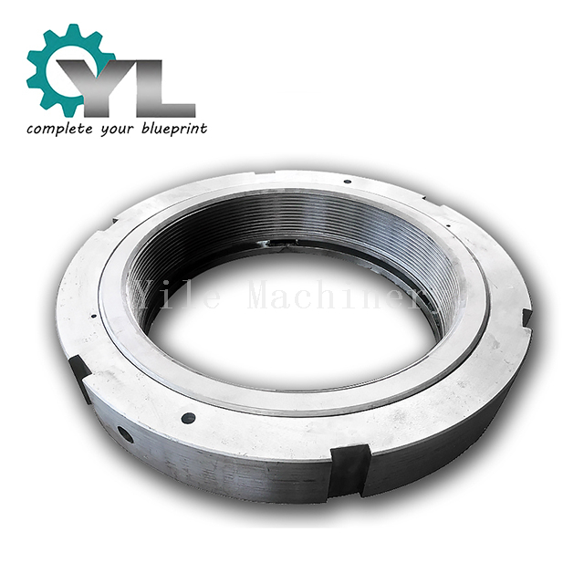 Crusher Custom Big Shaft Head Locking Nut