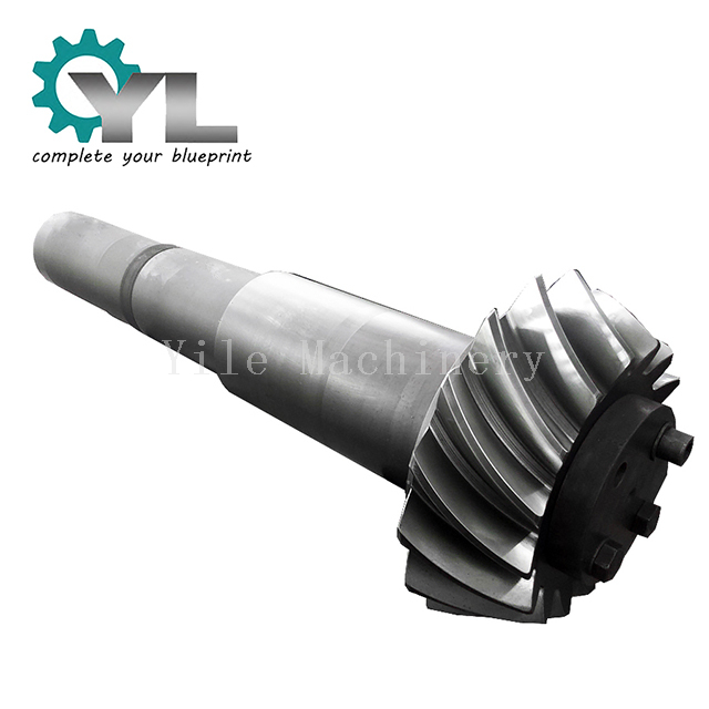 Reducer Transmission Spiral Bevel Teeth Gear Axle