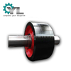 Cement Rotary Kiln Casting Support Roller Wheel Roller With Shaft