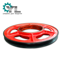 Mining Excavator Lifting Drive Rope Pulley Block