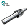 Cement Mill EN24 Steel Forged Shaft Helical Pinion