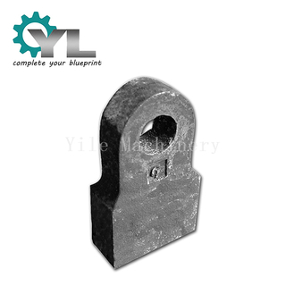 High Manganese Steel Casting Hammer Beater Head