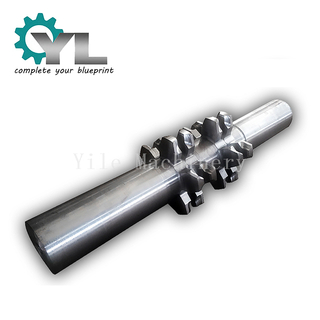 Conveyor Forged One Piece Chain Wheel and Output Shaft
