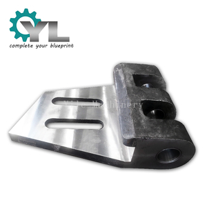 Customized Casting Fork Plate For Mining Excavator