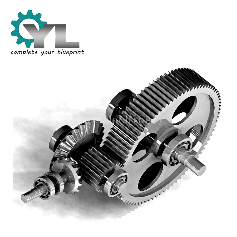 Different Size Precision Steel Pinion Gear Assembly
