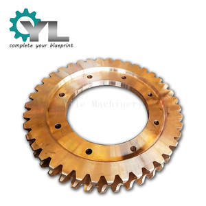 High Quality Reducer Metallurgy Parts Metal Molding Bronze Bevel Gear
