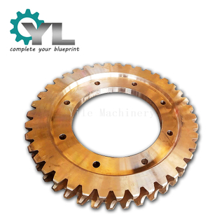 China Gear Manufacturer Casting Milling Cooper Reducer Worm Gear