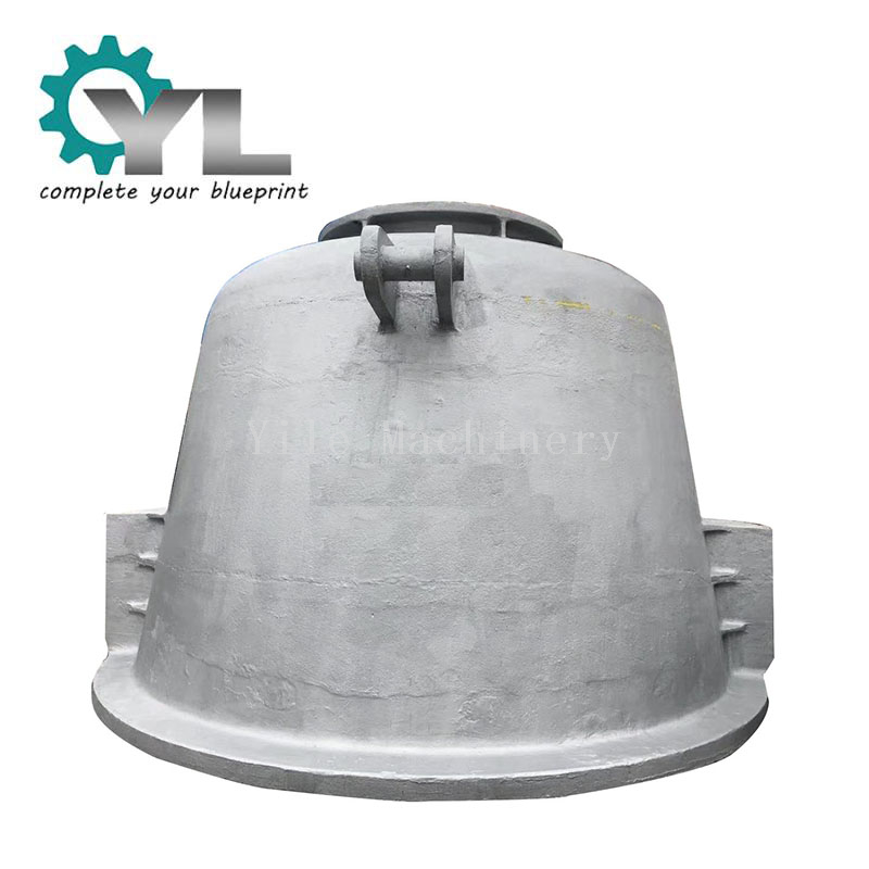 Large Capacity Steel Casting Factory 39NiCoMo3 Casting Ladle Cinder Pot