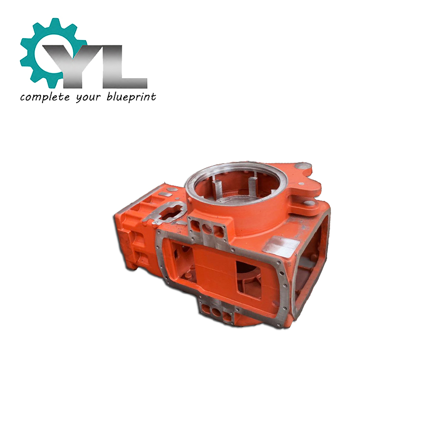 CNC Machining Steel Milling Factory Roller Bearing Housing Cast Body